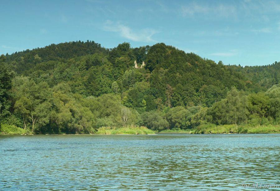 Góra Sobień z ruinami zamku