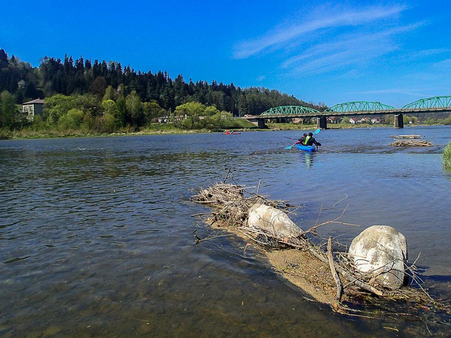 Most Lesko początek spływu