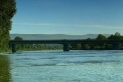Most w Postołowie (pierwszy most na trasie)