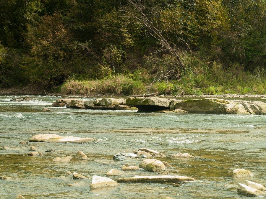 naturalny stopień wodny Kamieniec