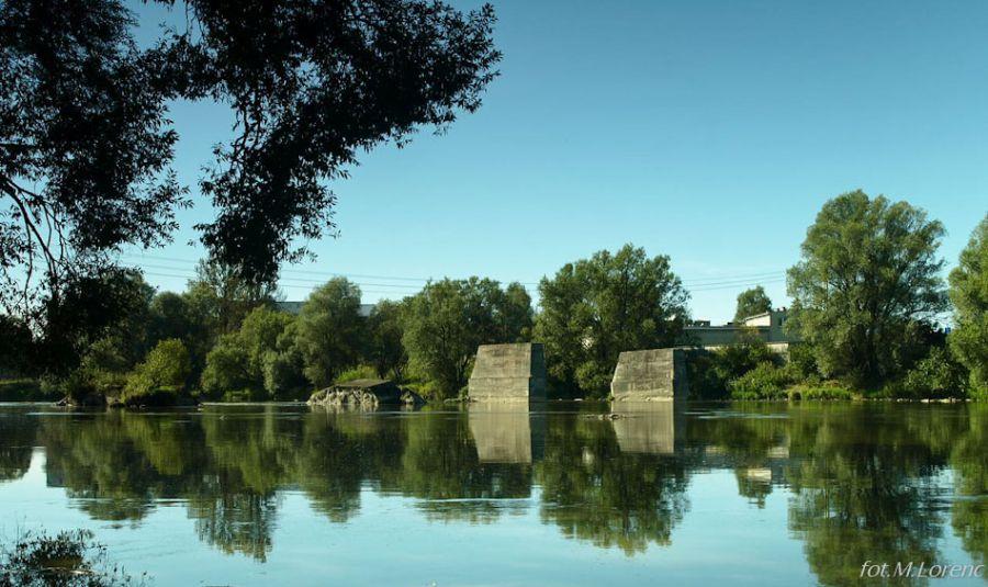 stare filary mostu